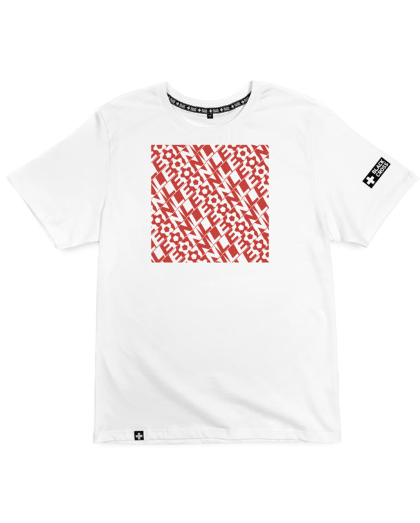 print Red square Leon